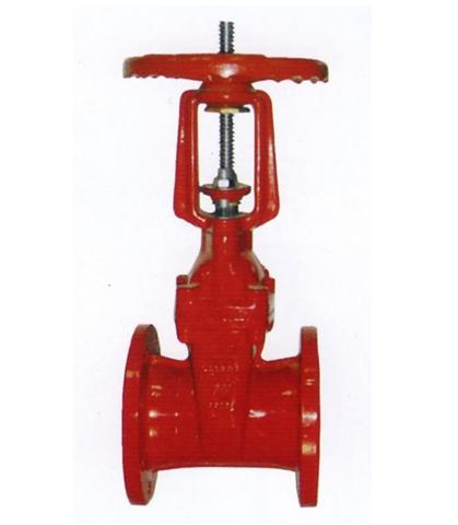 消防专用明杆弹性座封闸阀图片